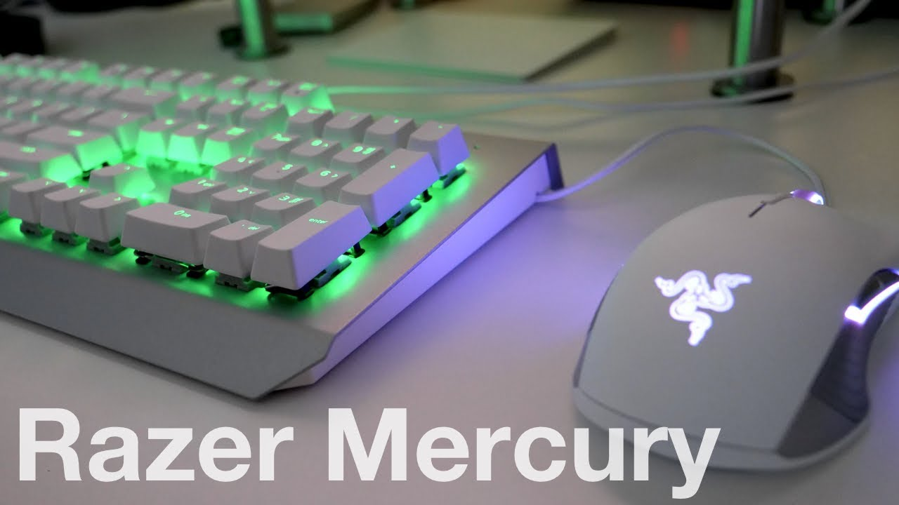7c90be16efe Razer Mercury Mouse and Keyboard - Unboxing and First Look - YouTube
