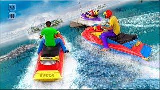 Real Jet Ski Simulator - Gameplay Android game - boat racing game 2018