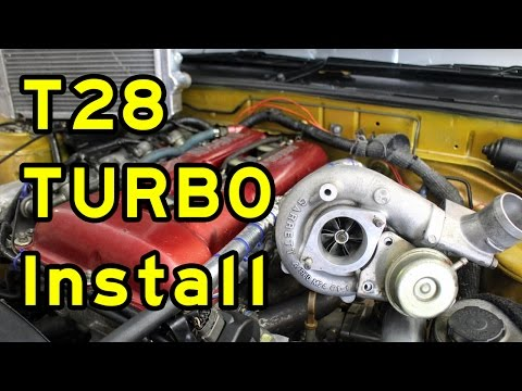 T28 TURBO INSTALL |  SR20DET 180SX