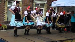 Morena Dance and music from Slovakia &quotThe bottle dance&quot