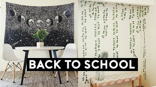 BACK TO SCHOOL HAUL! URBAN OUTFITTERS DORM ROOM DECOR 2019 | Nastazsa