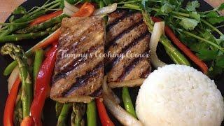 Vegetarian Tofu Steak (Vegan) | Đậu Hũ Bít Tết Chay