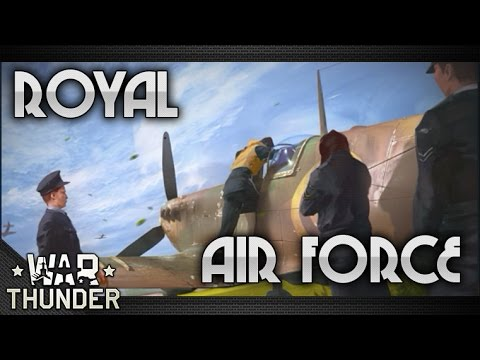 Let's Play War Thunder | Flying the British RAF Part 1