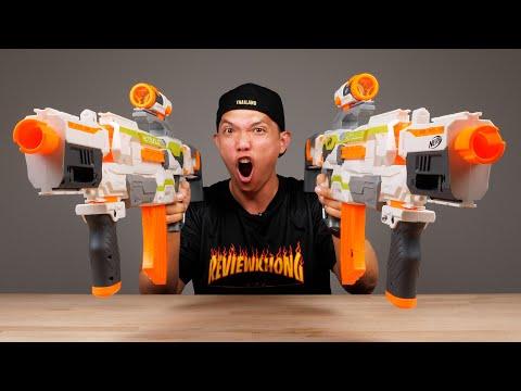 รีวิวปืนเนิฟตัวเทพ แกล้งทีมงาน My Mate Nate ยิงกระจาย!!!