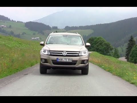 2012 Volkswagen Tiguan First Drive Review