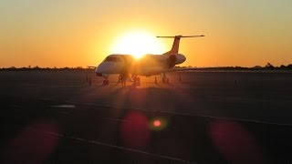 Air Namibia economy class, Maun to Windhoek Embraer ERJ135 August 2016