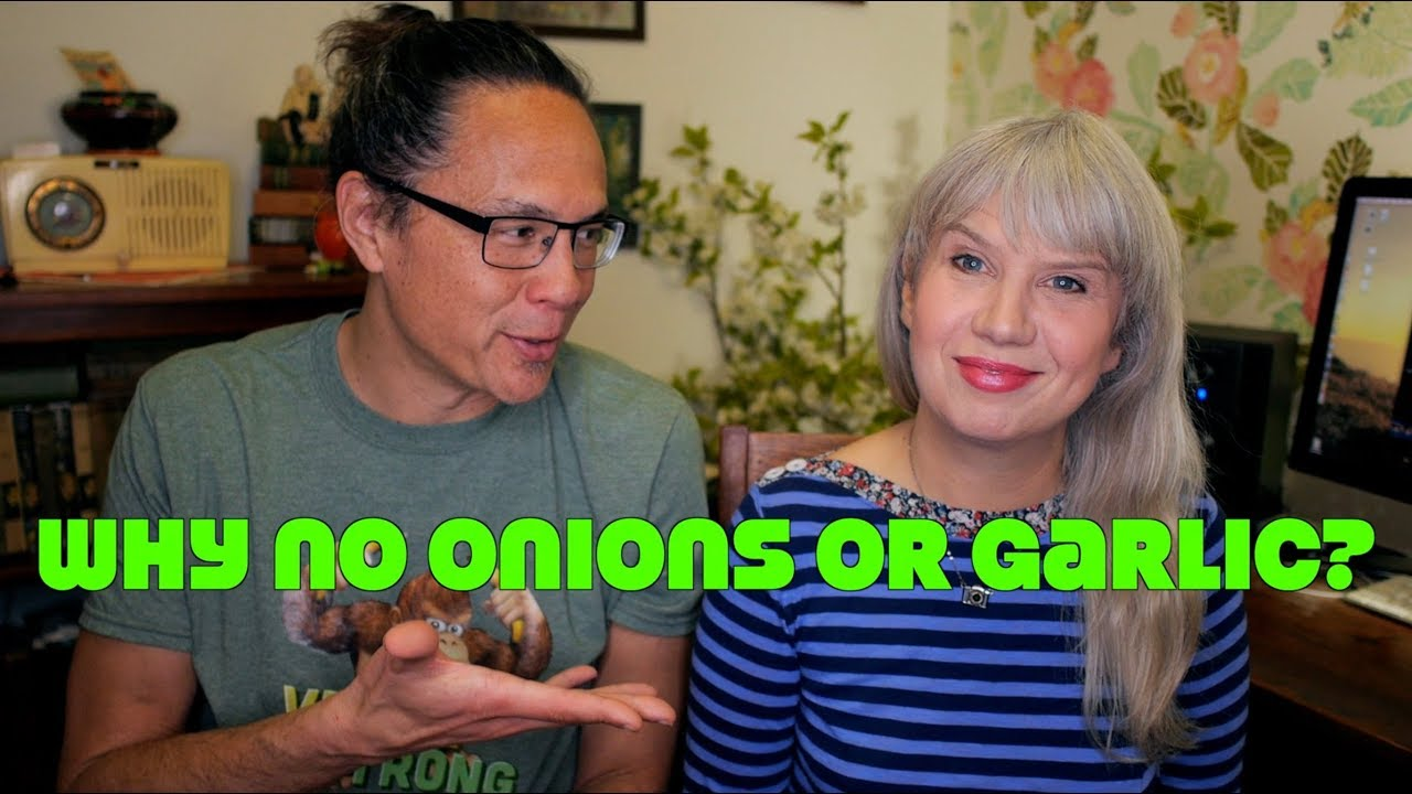 Why No Onions or Garlic Are In My Vegan Cookbook