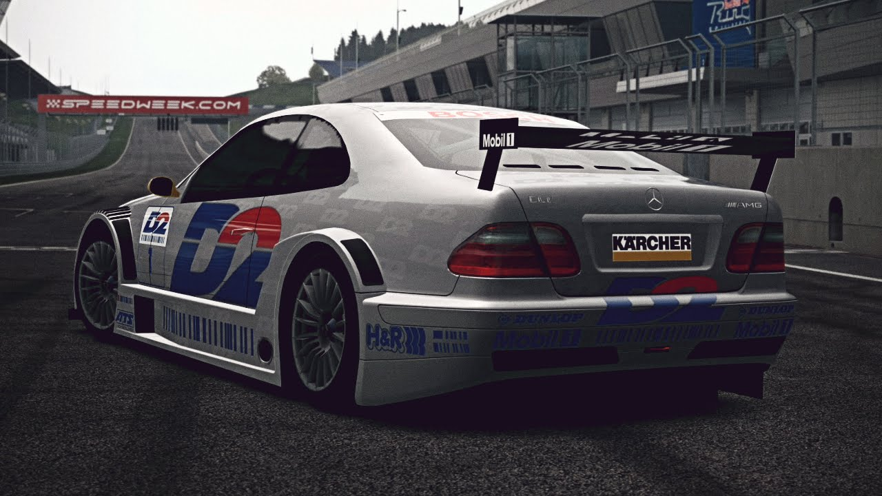 Gt6 mercedes benz clk touring car 39 00 exhaust video for Mercedes benz touring car