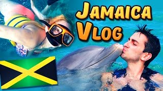 SWIMMING WITH THE DOLPHINS? (Jamaica, Snorkeling & Dolphins)
