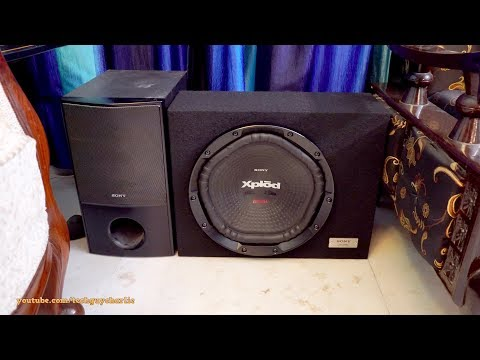 How to hook up a subwoofer to a home theater system