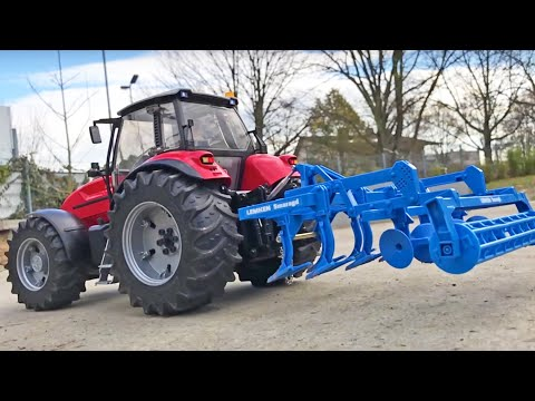 Toy TRACTORS BRUDER FARM WORLD For Kids ♦ BRUDER Land Rover SPECIAL!