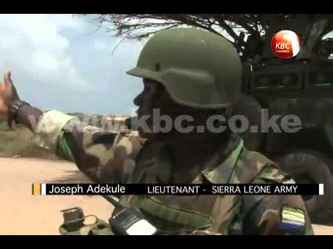 Sierra Leone military in Kismayo, Somalia commences daily foot patrols
