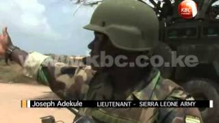 Sierra Leone military in Kismayo, Somalia commences daily foot patrols