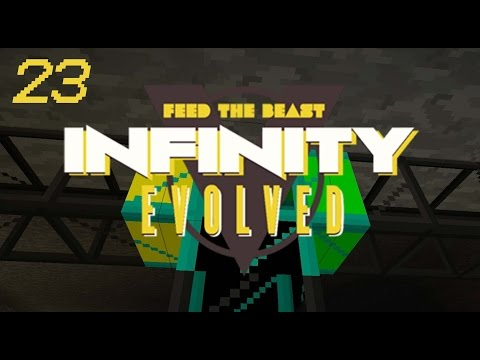 Minecraft: FTB Infinity Evolved - Ep.23 - Transport Pipes