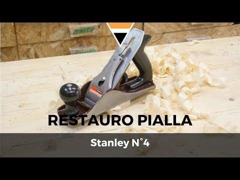 Fai da te - Restauro pialla Stanley N°4