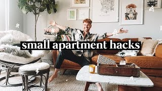 10 SMALL APARTMENT DECORATING TIPS + HACKS // Lone Fox