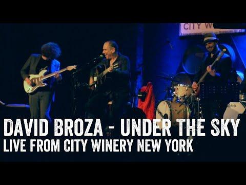 David Broza - Mitachat Lashamayim (Under The Sky) LIVE NYC 2013 דויד ברוזה - מתחת לשמיים