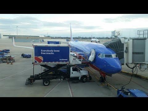 SouthWest Airlines New York La Guardia to Dallas Love Field| Full Flight @60FPS