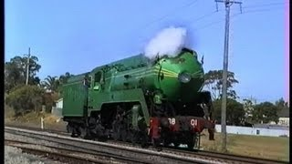 3801 Steam Locomotive at Maitland, NSW Australia