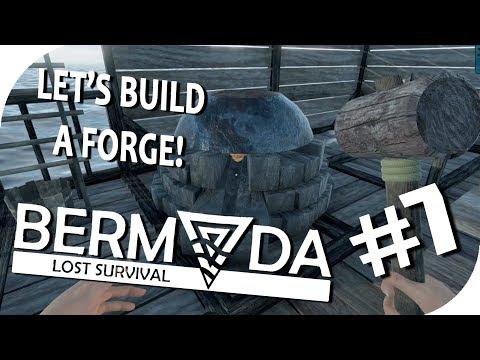 SMELTING IRON ORE - Part 7 - Bermuda Lost Survival Alpha Gameplay (Season 1)
