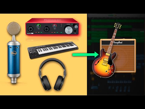 How To Connect Your Recording Gear To GarageBand (GarageBand Tutorial)