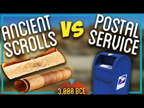 Can DIY Papyrus SURVIVE The US Postal Service?