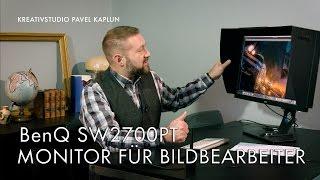 BenQ SW2700PT - Monitor für Bildbearbeiter