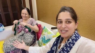 Mummy & I doing Tailoring Together | Meet The new Member in our house | Dipika Ki Duniya