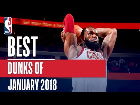 Best Dunks of the Month | January 2018