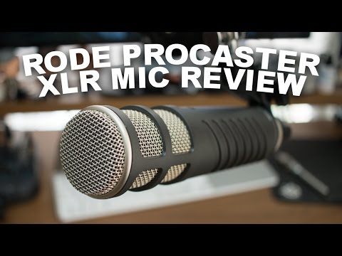 Rode Procaster Broadcast Dynamic Mic Review / Test