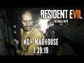 Resident Evil 7 NG Madhouse Speedrun in 1 39 19 Personal Best