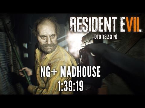 Resident Evil 7 | NG+ Madhouse Speedrun in 1:39:19 [Personal Best]