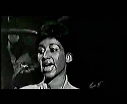 Aretha Franklin - My Baby's Face B&W