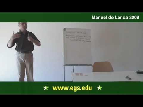 Manuel De Landa. Deleuze and The New Materialism. 2009. 7/11