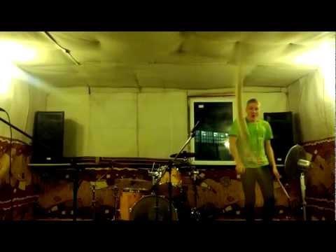 Jared Parker drummer fail