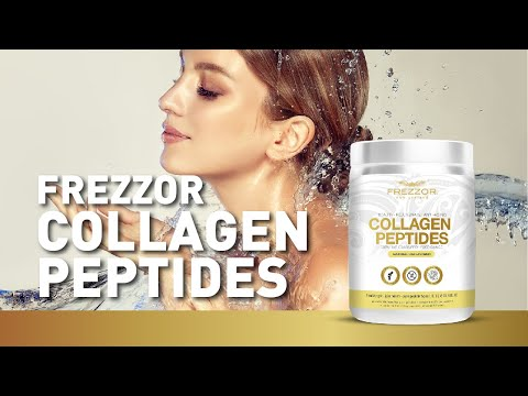FREZZOR COLLAGEN PEPTIDES POWDER – The Best Anti-Ageing Supplement 2021 - Health Benefits & uses