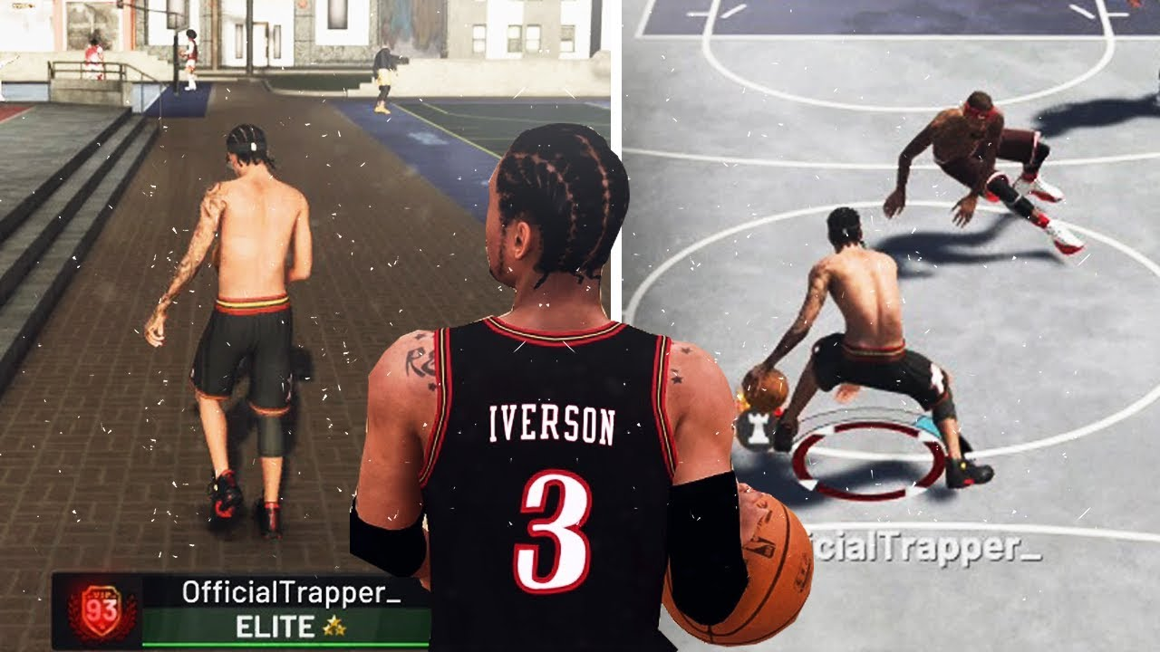 size 40 de630 89889 YOUNG ALLEN IVERSON THE DRIBBLE GOD!😱 ANKLE BREAKERS   NONSTOP ...