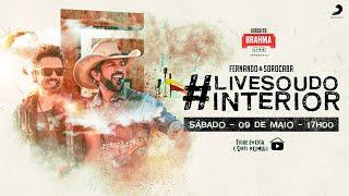 #LiveSouDoInterior - Fernando & Sorocaba | #FiqueEmCasa e Cante #Comigo
