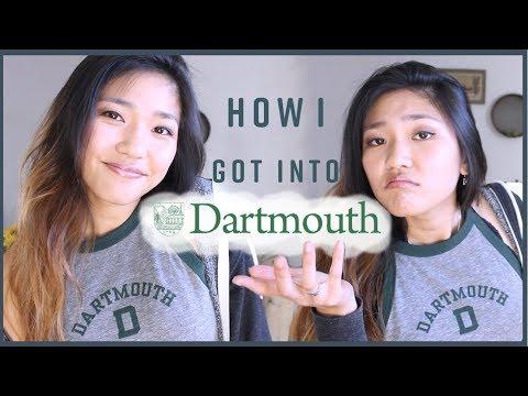 HOW I GOT INTO DARTMOUTH 💚ft. Goodwall App