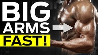How To Get Bigger Arms Fast (4 BIG ARM EXERCISE MISTAKES)