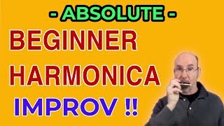 ABSOLUTE BEGINNER HARMONICA Jamming: 1st Position Major Scale
