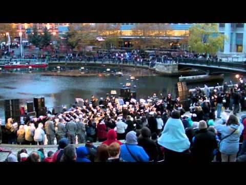 Waterfire 2013 - A Salute to Veterans - Rhode Island National Guard Band Concert