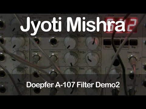 Doepfer A-107 Filter Demo2