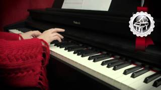 """Joy To The World"" - Christmas Song for Piano (easy piano version)"