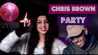 Chris Brown Party Official Video Ft Gucci Mane Usher REACTION