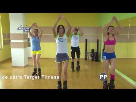 Target Fitness...Moldova SPort,,,Lidia VInogradova ...fitness 4