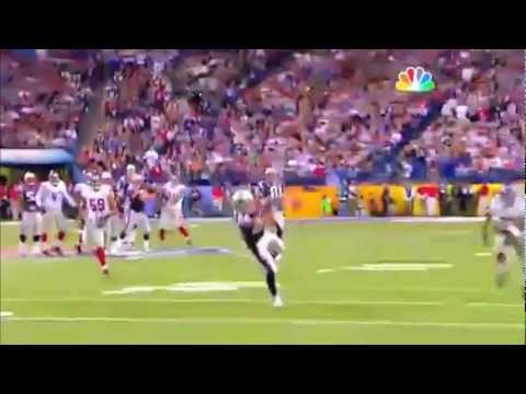 Wes Welker Superbowl XLVI Dropped Pass