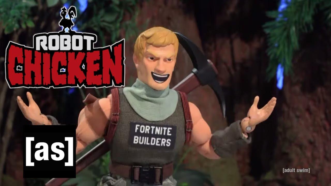 Fortnite Builders | Robot Chicken | adult swim