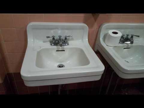 Vintage bathroom tour Timeline Arcade Hanover Pennsylvania