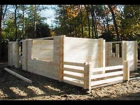 houten huis bouwen - houtstapelbouw woning - houtbouwconstructies